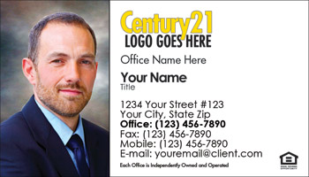 Century 21 Business Card Design 01