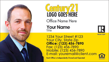 Century 21 Business Card Design 03