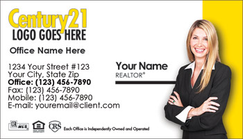 Century 21 Business Card Design 04